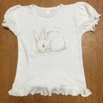 Embroidered Bunny Shirt